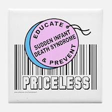 SUDDEN INFANT DEATH SYNDROME Tile Coaster