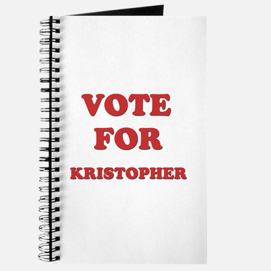 Vote for KRISTOPHER Journal