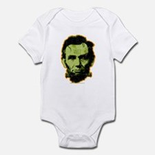 Abe Lincoln Stein Infant Creeper