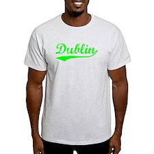Vintage Dublin (Green) T-Shirt