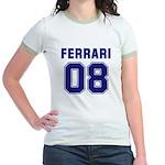 Ferrari 08 Jr. Ringer T-Shirt
