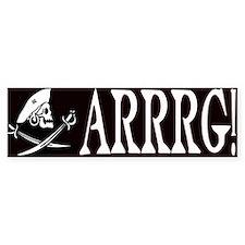 Arrrg! Bumper Bumper Sticker