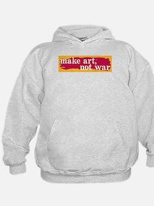 Make Art, Not War Hoodie