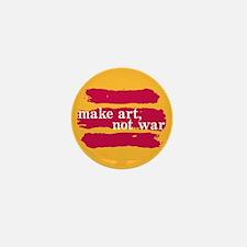 Make Art, Not War Mini Button