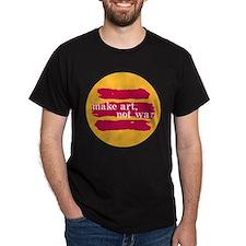 Make Art, Not War T-Shirt