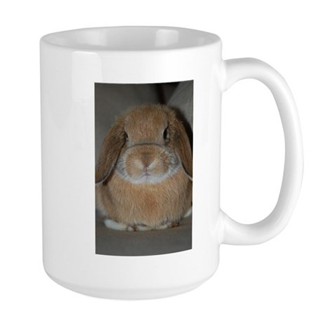 Holland Lop Bunny Large Mug