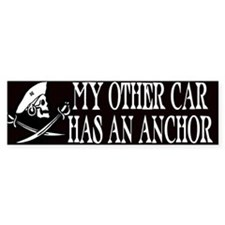 My Other Car Has An Anchor Bumper Bumper Bumper Sticker