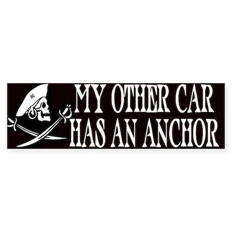 My Other Car Has An Anchor Bumper Sticker