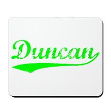 Vintage Duncan (Green) Mousepad