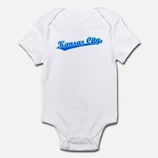 Retro Kansas City (Blue) Infant Bodysuit
