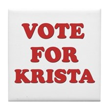 Vote for KRISTA Tile Coaster
