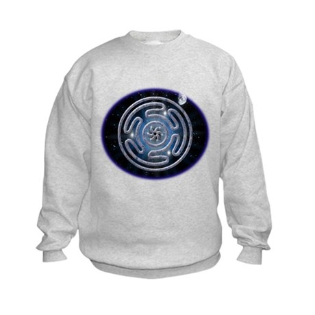 Celestial Hecate's Wheel Kids Sweatshirt
