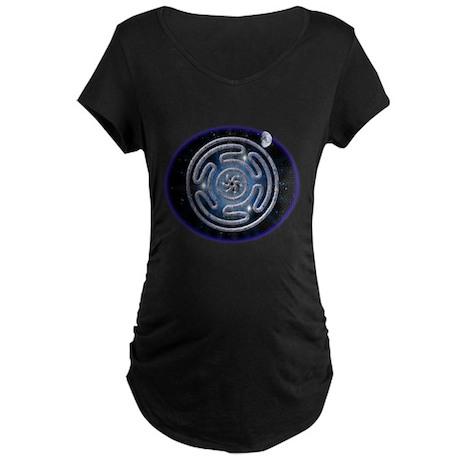 Celestial Hecate's Wheel Maternity Dark T-Shirt