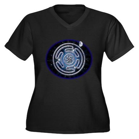 Celestial Hecate's Wheel Women's Plus Size V-Neck