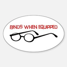 Epic Glasses Oval Decal