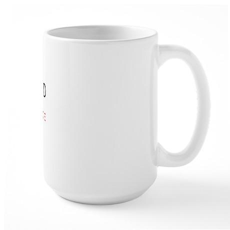 GODDAMNED CONDOLEEZZA RICE Large Mug