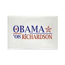 Obama Richardson '08 Rectangle Magnet