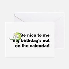 My Birthday's Not... Greeting Card