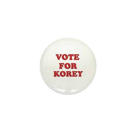 Vote for KOREY Mini Button (10 pack)