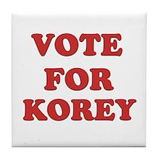 Vote for KOREY Tile Coaster