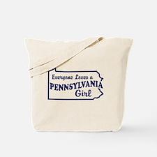Pennsylvania Girl Tote Bag