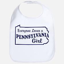 Pennsylvania Girl Bib