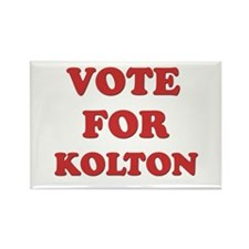 Vote for KOLTON Rectangle Magnet