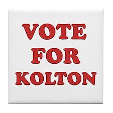 Vote for KOLTON Tile Coaster