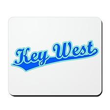 Retro Key West (Blue) Mousepad