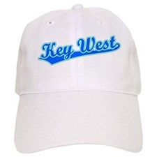 Retro Key West (Blue) Baseball Cap
