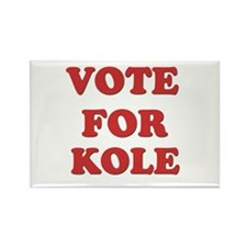 Vote for KOLE Rectangle Magnet