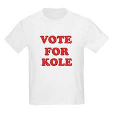 Vote for KOLE T-Shirt