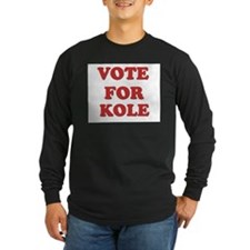 Vote for KOLE T
