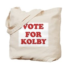 Vote for KOLBY Tote Bag