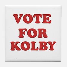 Vote for KOLBY Tile Coaster