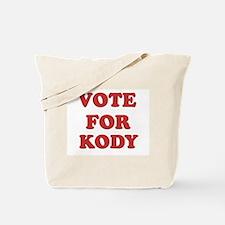 Vote for KODY Tote Bag