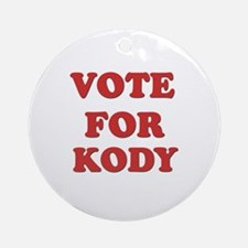 Vote for KODY Ornament (Round)
