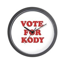 Vote for KODY Wall Clock