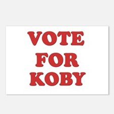 Vote for KOBY Postcards (Package of 8)