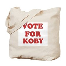 Vote for KOBY Tote Bag