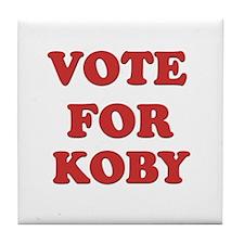 Vote for KOBY Tile Coaster