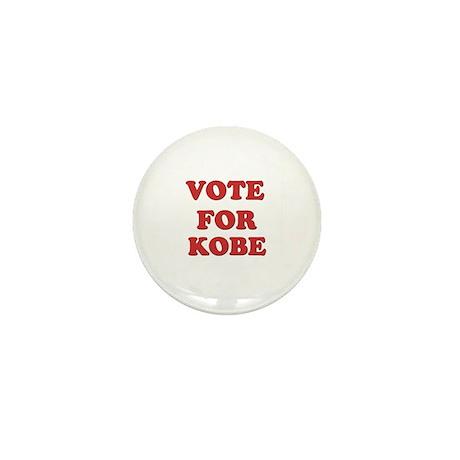 Vote for KOBE Mini Button (10 pack)