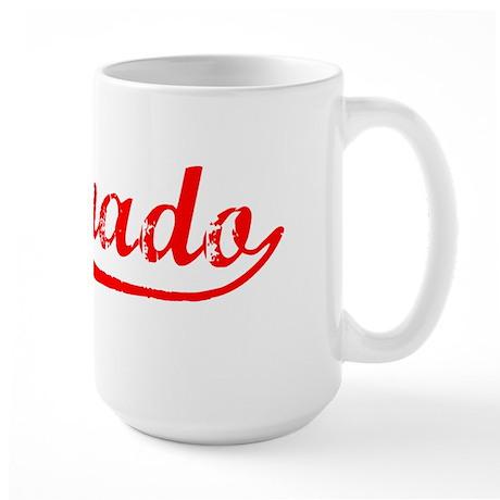 Vintage Coronado (Red) Large Mug