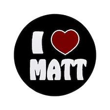 """Matt 3.5"""" Button"""