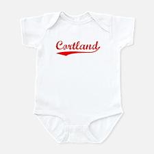 Vintage Cortland (Red) Infant Bodysuit