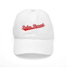 Retro Palm Desert (Red) Hat