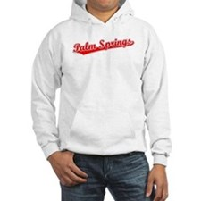 Retro Palm Springs (Red) Hoodie