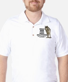 """""""Real Men Find Real Solutions T-Shirt"""