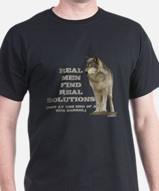 """Real Men Find Real Solutions T-Shirt"