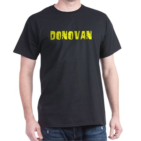 Donovan Faded (Gold) Dark T-Shirt